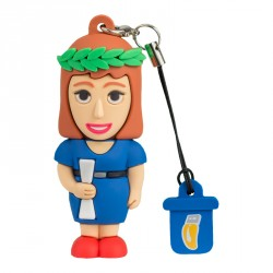 Female Graduate – USB Pen Drives