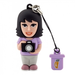 Female Photographer - USB Pen Drive
