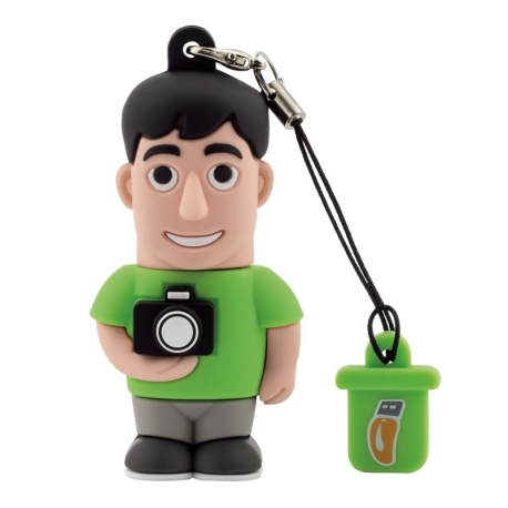 Male Photographer - USB Pen Drive