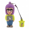 Female Computer Scientist - USB Pen Drive