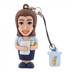 Female Employee - USB Pen Drive