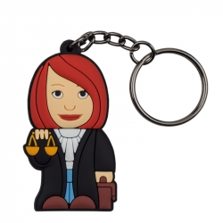 Female Lawyer – Keychain