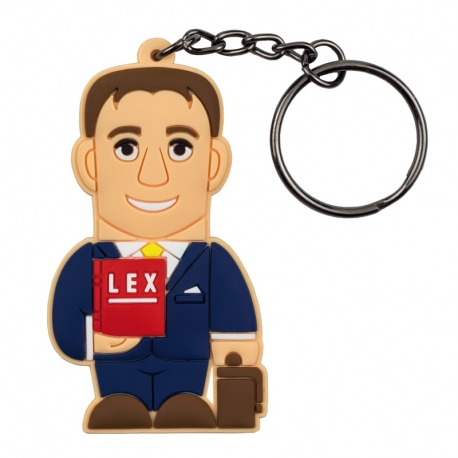 Male Lawyer – Keychain