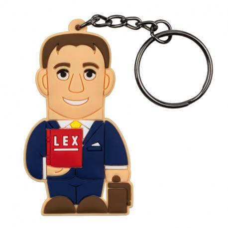 Male Lawyer – Keychain