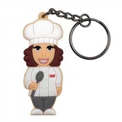 Cuoco Donna - Portachiavi