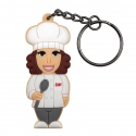 Female Chef – Keychain