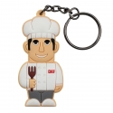 Male Chef – Keychain