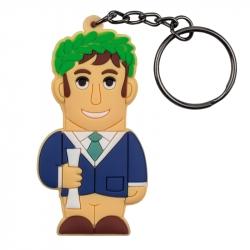 Male Graduate – Keychain