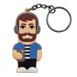Male Social Media Addict – Keychain