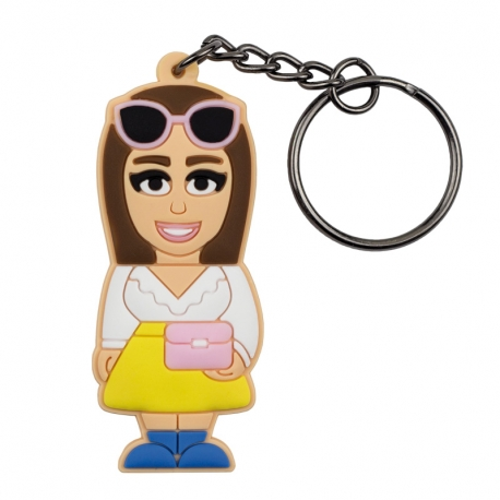 Female Fashion Enthusiast – Keychain