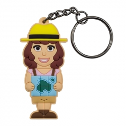 Female Traveller – Keychain
