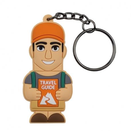 Male Traveller – Keychain