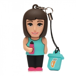 Female Athlete - USB Pen Drive