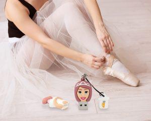 Le-chiavette-usb-tema-ballerina-di-Professional-USB