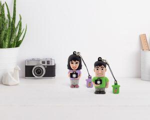 Chiavette Professional USB a tema fotografia