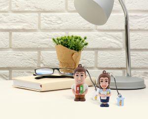 Chiavette Professional USB a tema impiegati