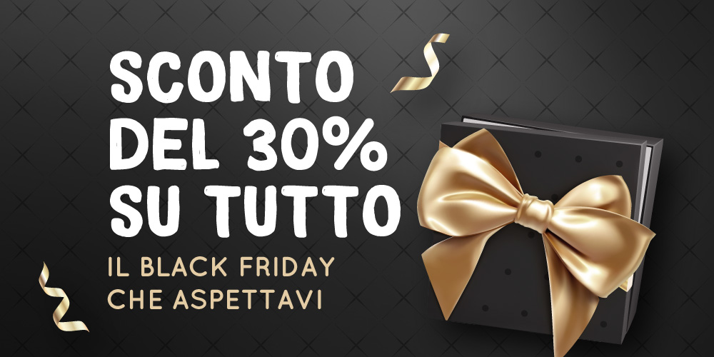 Black Friday: -30% su tutto il catalogo Professional Usb