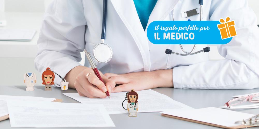 La chiavetta e il portachiavi Professional Usb Medico Donna