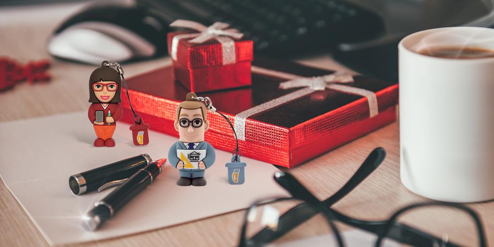 Regali aziendali e gadget natalizi Professional USB