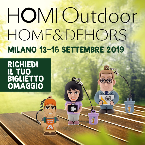 Professional Usb a HOMI Outdoor 2019 Milano