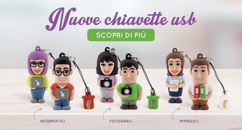 Novità Chiavette USB